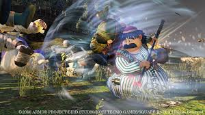 dragon quest characters return in dragon quest heroes ii debut trailer