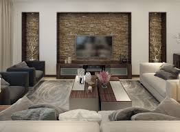 Slate Cladding For Interior Walls 30 Gorgeous Living Rooms With Stone Walls Interiorcharm