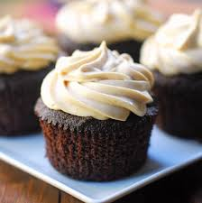 square cupcakes chocolate cupcakes with peanut butter frosting healthy recipes