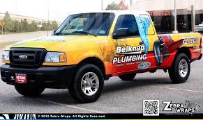 Ford Camo Truck Wraps - belknap plumbing u2013 plumbing wrap u2013 zebra wraps u2013 houston wraps