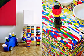 lego kitchen island this colorful kitchen island is made with 20 000 lego pieces