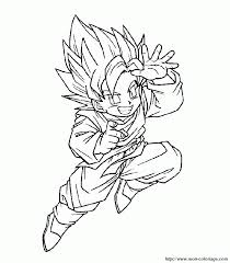 dragon ball z coloring pages printable coloring home