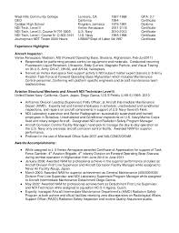 Inspector Resume Sample Ndt Technician Resume Sample Gallery Creawizard Com