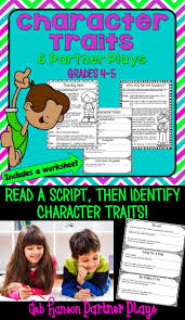 Character Trait Worksheet 102 Best Character Traits Images On Pinterest Teaching Ideas