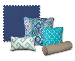 Blue Outdoor Cushions How To Coordinate Patio Cushions Improvements Catalog