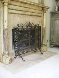 Hand Painted Fireplace Screens - mantel of the month enchanted treasures shabby chic romantic