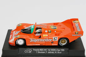 jagermeister porsche 962 car classes and rules all saints scalextric club