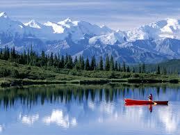 Alaska mountains images Lake snow mountain wonder lake alaska jpg alaskan adventurer jpg