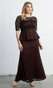 peplum dress astoria lace peplum gown plus size peplum gown