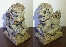 foo dog lion foo dog lion ceramic statue fengshui 14 collection sam