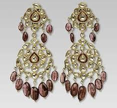 rajputi earrings kundan earrings designs bridal wears
