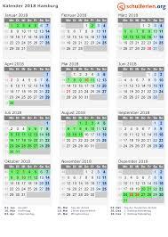 Kalender 2018 Hamburg Brückentage Kalender 2018 Ferien Hamburg Feiertage