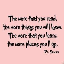 vwaq the more that you read dr seuss home decor vinyl wall decal