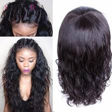 black wet and wavy hairstyles 8a glueless wet wavy cheap lace human hair wig for black women