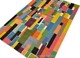 Modern Colorful Rugs Kashmir Arts Craftskashmir Arts Crafts
