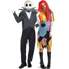 Sally Jack Halloween Costumes Jack Skellington Sally Nightmare Christmas Couples
