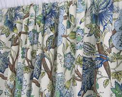 Curtains Floral Floral Curtains Etsy