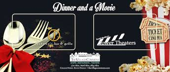 dinner and a gift card tower theaters south hadley ma gift cards