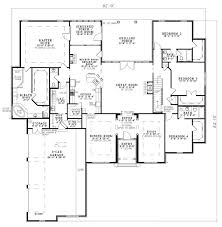 Floor Plan Of 4 Bedroom House First Floor Plan Of European House Plan 82145 Screened In Porch