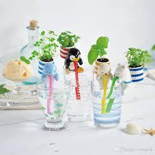2018 creative chuppon diy self watering animal mini bonsai plant