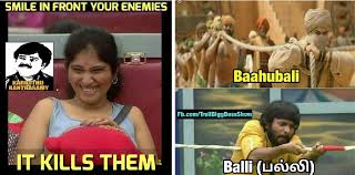 Meme Hilarious - bigg boss tamil memes find fans created hilarious and funny