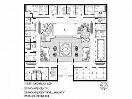 small courtyard house plans courtyard home floor plans