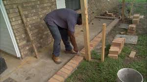 Diy Patio With Pavers How To Lay Brick Pavers On A Concrete Slab Porch Today U0027s Homeowner