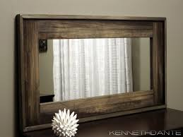 framed bathroom mirrors white wood framed bathroom mirrors