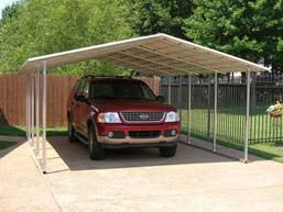 open carports open partially enclosed carports