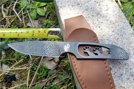 knife patterns vintage carving 5cr15mov steel fixed blade knife tactical hunting