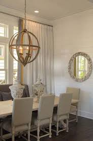 Beachy Chandeliers Romair Homes Dining Rooms Axel Orb Chandelier Cottage Dining