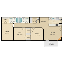 rectangle floor plans northridge apartments availability floor plans pricing