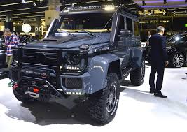 mercedes g class brabus brabus u0027 package for the already extreme mercedes g500 4x4 squared
