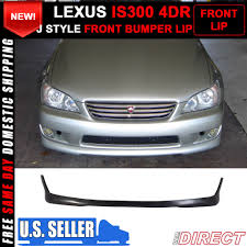 lexus is300 for sale brunei for 01 05 lexus is300 altezza sxe10 tr style front bumper lip
