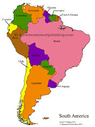 south american maps blank colored labeled maps of south