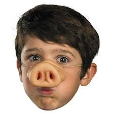Kids Pig Halloween Costume Amazon Disguise Costumes Pig Nose Child Toys U0026 Games