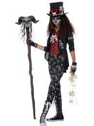 Voodoo Queen Halloween Costume Girls Horror U0026 Gothic Costumes Halloween Costumes Kids