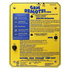 gem gr1a single motor boat lift remote auto bh usa