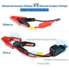 amazon com dbpower 600a peak 18000mah portable car jump starter