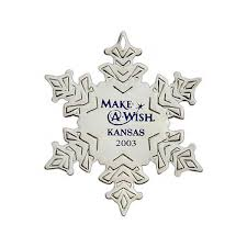 personalized snowflake ornament favor