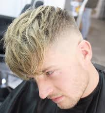 textured top faded sides textured hairstyles for men