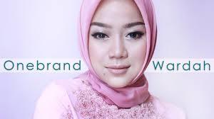 review tutorial make up natural wardah bridesmaid makeup tutorial ft wardah one brand tutorial cheryl