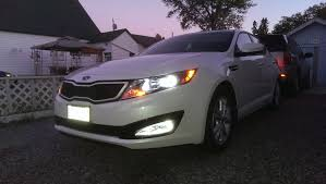 2013 kia optima led fog light bulb write up no name hid kit from k5 optima store foglights 2013 lx