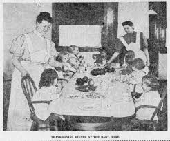 thanksgiving charity as seen in morning oregonian 1906 1913