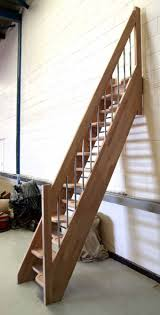 Alternate Tread Stairs Design Bespoke Spacesaver Stairs Wooden Staircases Made To Measure Uk