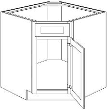 corner kitchen sink base cabinets dsb42 light gray shaker diagonal corner sink base cabinet 42 wide x 24 x 34 5