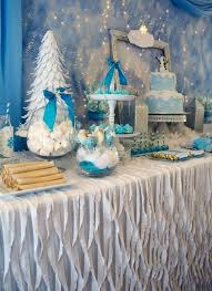tablecloth decorating ideas winter party tablecloth ideas the bright ideas