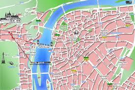 Metro Center Map by Hostel Santini Prague Historical Centre Of Prague By The