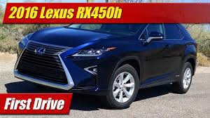 lexus 450h hybrid battery price first drive 2016 lexus rx450h hybrid testdriven tv
