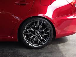 lexus wheels and tyres question for the isf owners with oem size michelin pss on oem